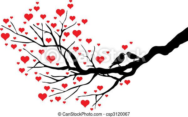beijando, pássaros - csp3120067
