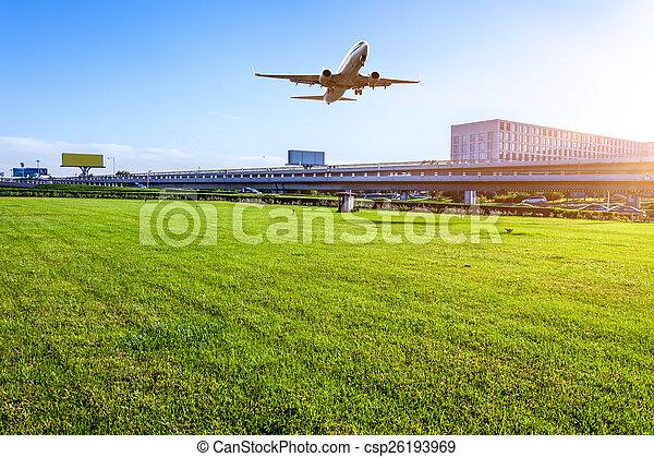 Aeropuerto en China de Beijing - csp26193969