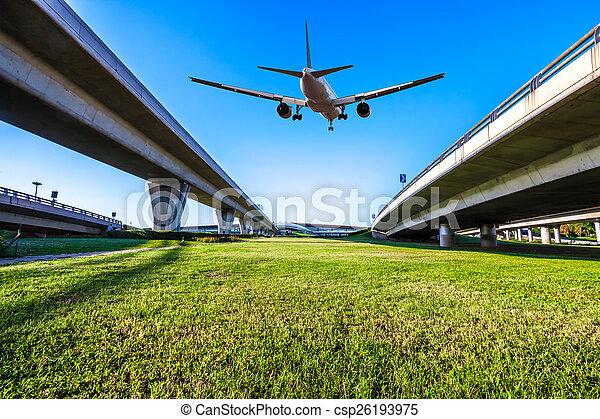 Aeropuerto en China de Beijing - csp26193975