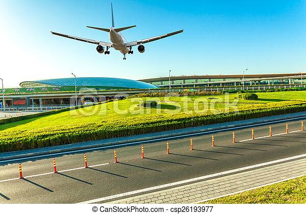 Aeropuerto en China de Beijing - csp26193977