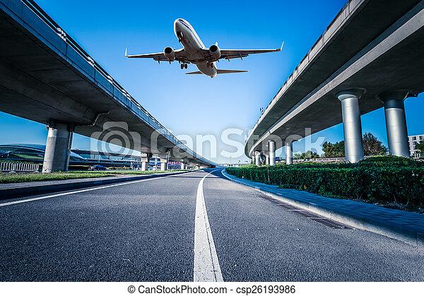 Aeropuerto en China de Beijing - csp26193986