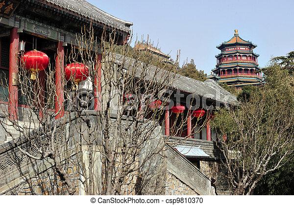 Porcelana de Beijing - csp9810370