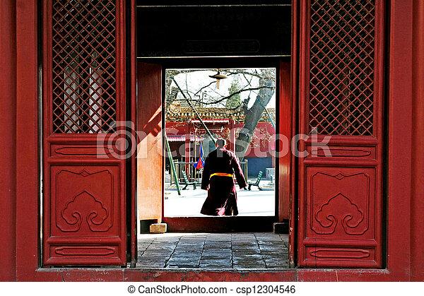 El templo lama en China beijing - csp12304546