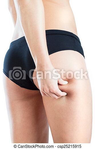 beine cellulite