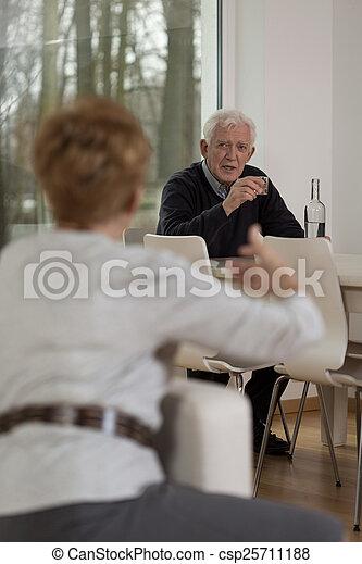Being angry at husband - csp25711188