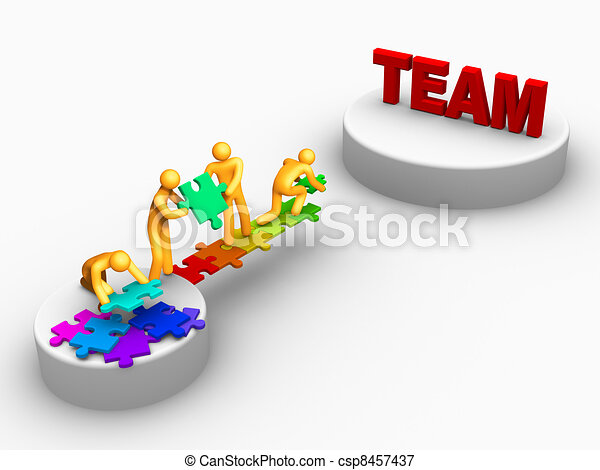 Being Team - csp8457437