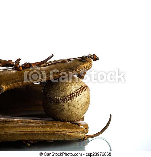 Béisbol antiguo - csp23976868