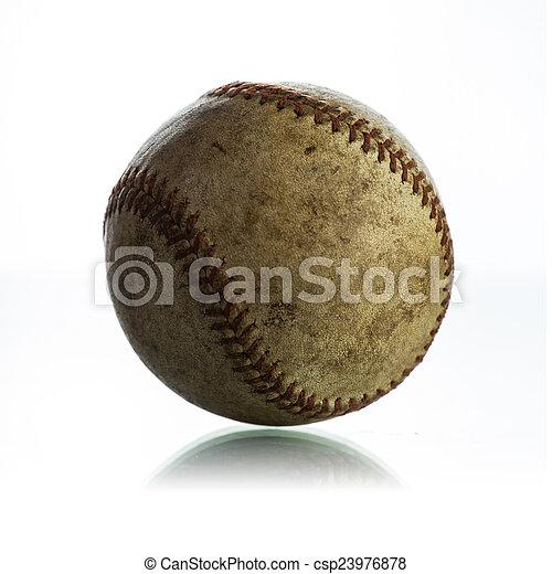Béisbol antiguo - csp23976878