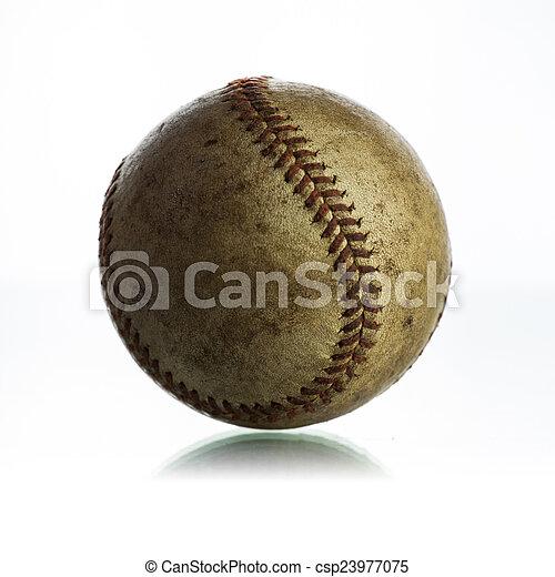 Béisbol antiguo - csp23977075