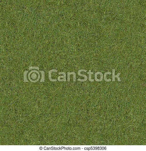 belägga med tegel, gräs, texture. - csp5398306