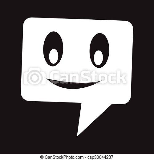 bel, klesten, toespraak, pictogram - csp30044237