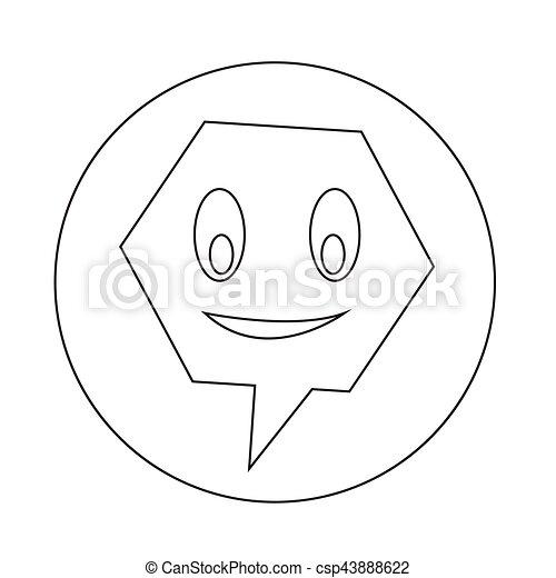 bel, klesten, toespraak, pictogram - csp43888622