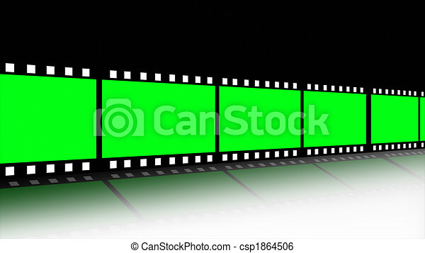 Filmregel animiert - csp1864506