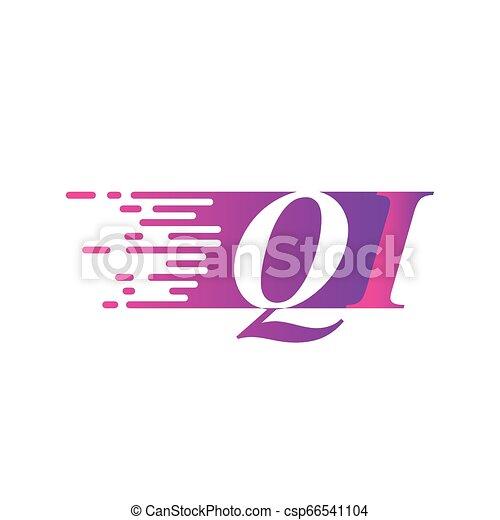 beletrystyka, początkowy, ruchomy, mocny, logo - csp66541104