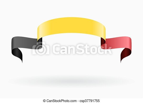 Belgian flag background. Vector illustration. - csp37791755