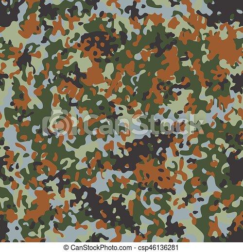 Belgian Flectarn Camouflage seamless patterns - csp46136281