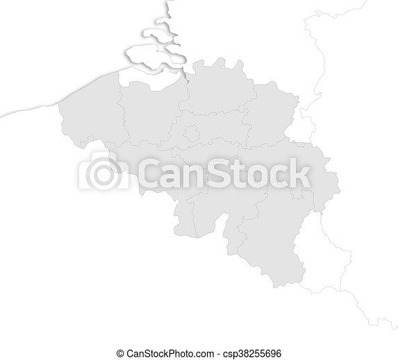 Carte Belgique Eps.Belgique Carte