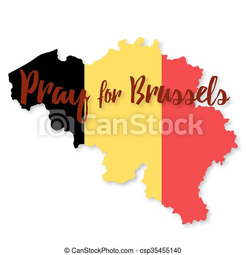 Belgium flag design elements - csp35455140