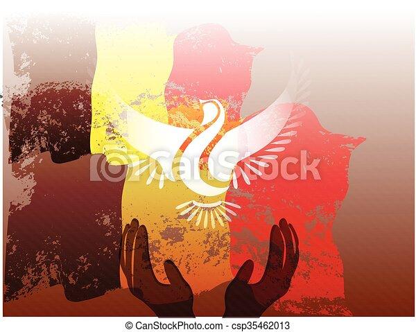 Belgium grunge flag - csp35462013