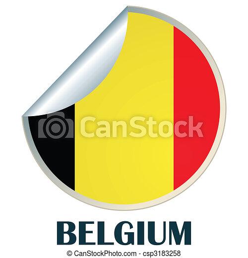 Belgium sticker csp3183258