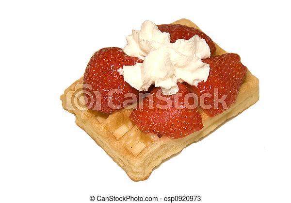 Belgium Waffle - csp0920973