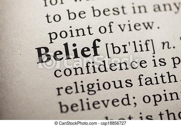 belief - csp18856727