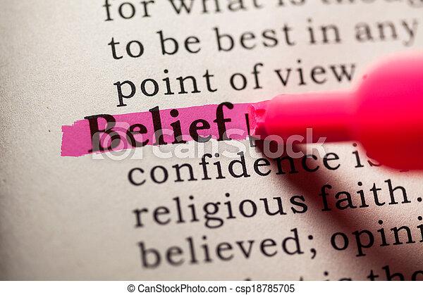 belief - csp18785705