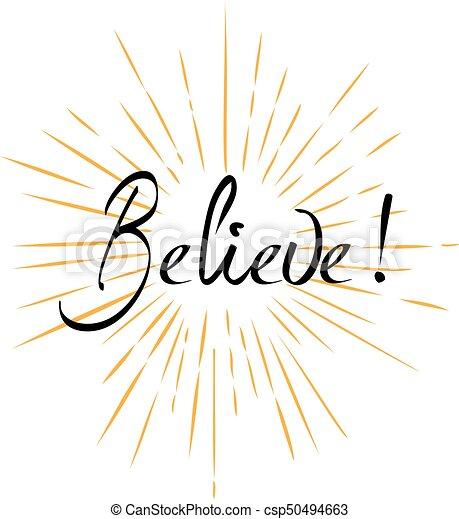 Believe - csp50494663