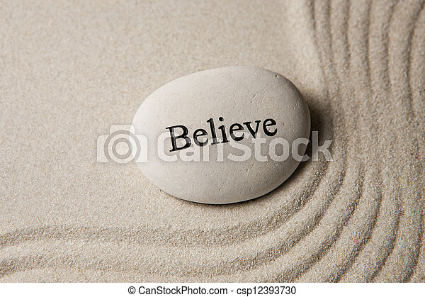 Believe - csp12393730