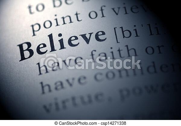 believe - csp14271338
