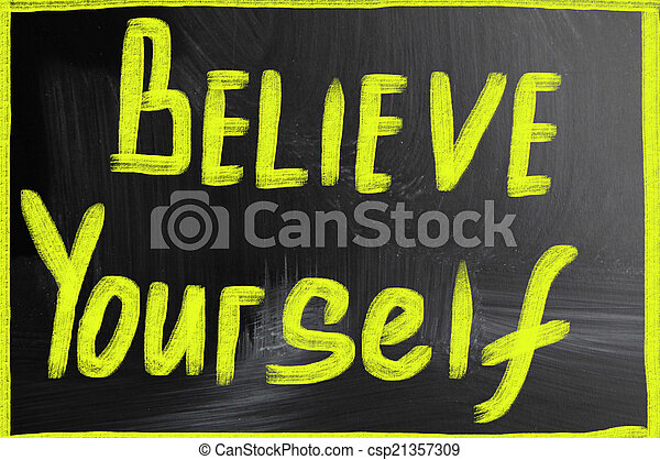 believe yourself - csp21357309