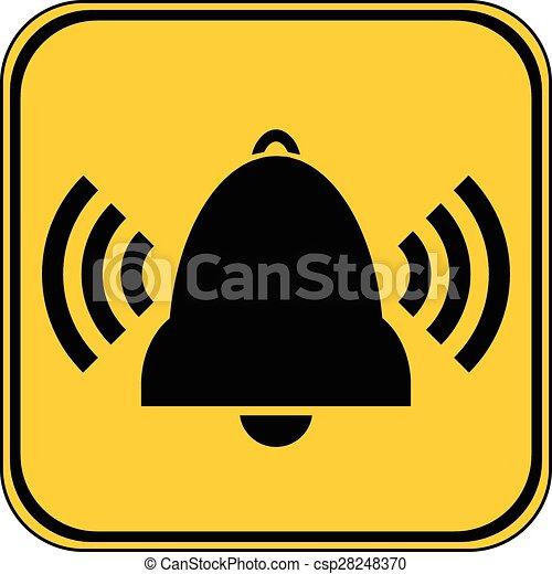 Bell button. - csp28248370