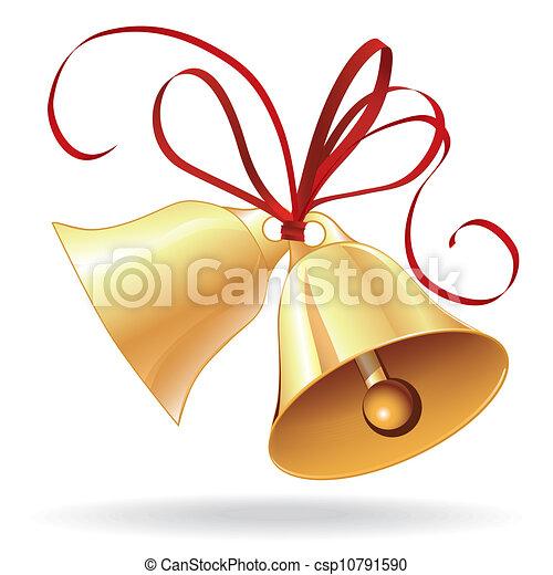 jingle bell stock illustrations 10 132 jingle bell clip art images rh canstockphoto com clip art marriage lsb monogram clipart mariage