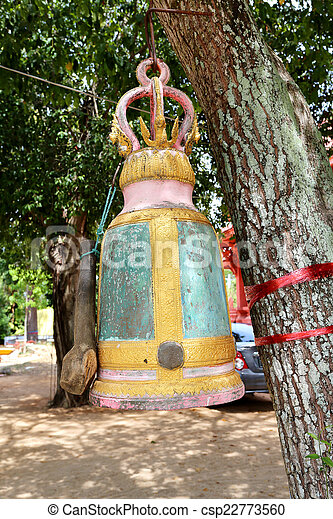 bell on the tree - csp22773560