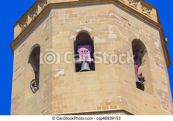 Bell Tower of the old church - csp46939153