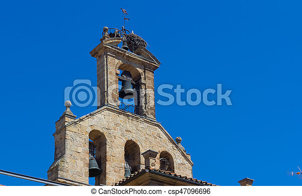 Bell Tower of the old church - csp47096696
