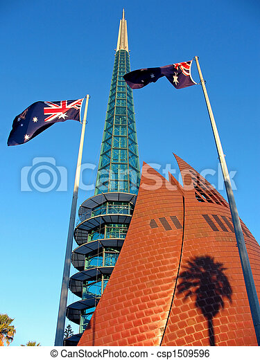 Bell Tower, Perth - csp1509596
