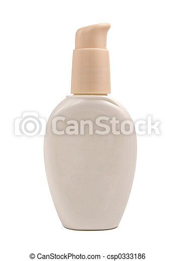 belleza, botella, loción - csp0333186