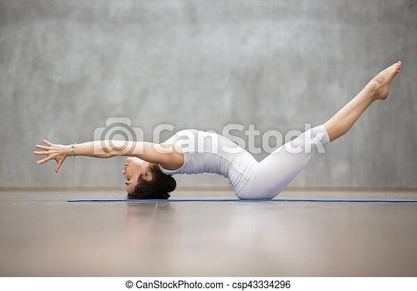 bello atteggiarsi matsyasana yoga bello exercise