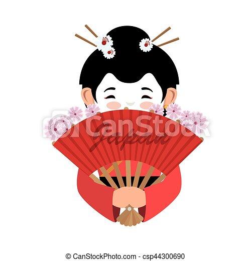 Conosciuto Bello, cultura, giapponese, geisha. Bello, geisha, giapponese SJ33
