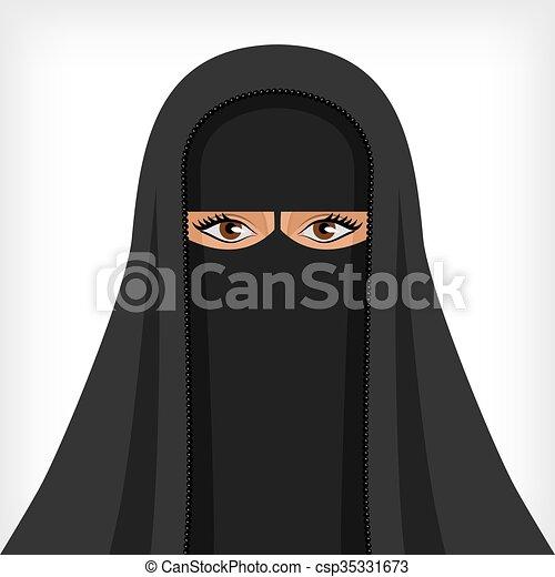 Donna nera che esce con un uomo musulmano