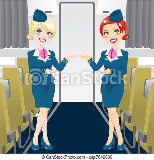 bello, hostess - csp7649800
