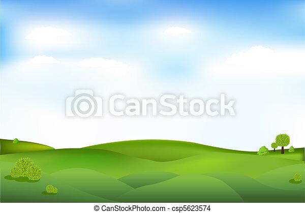 bello, paesaggio - csp5623574