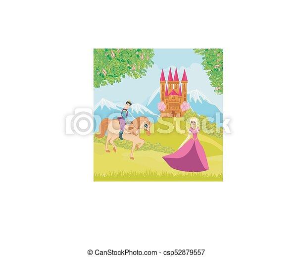 bello, principe, principessa - csp52879557