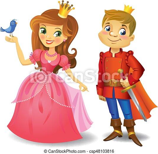 bello, principessa, principe - csp48103816