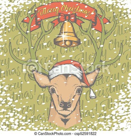 Bells Deer Toys 01 [Converted] - csp52591822