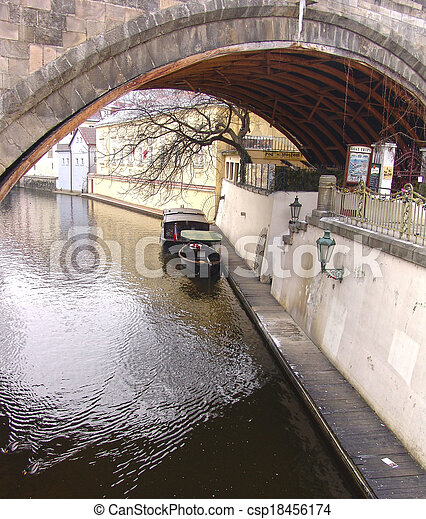 Below the bridge - csp18456174