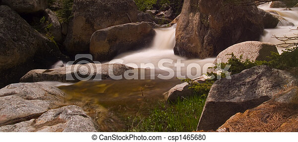 Bend in a Rocky River - csp1465680