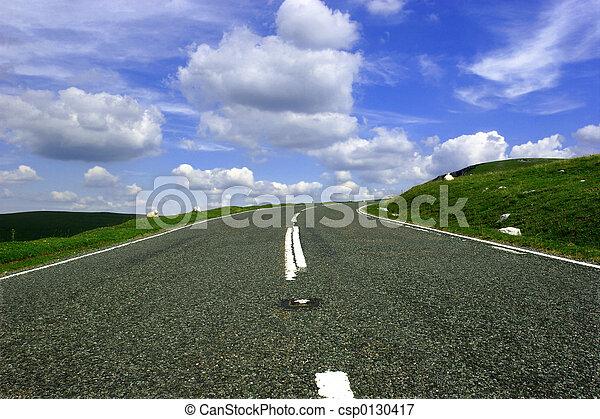 bend., op, ronde, heuvel - csp0130417