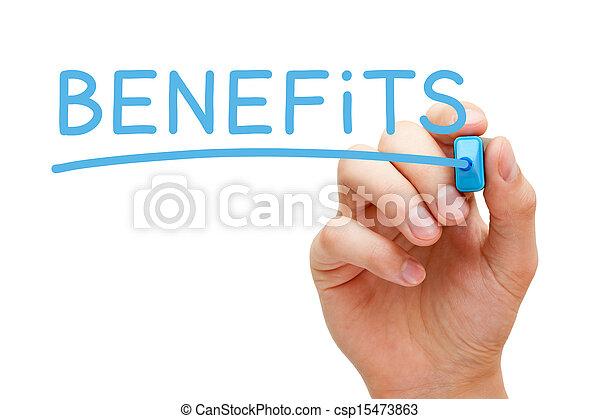 Benefits Concept - csp15473863